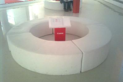 圆弧沙发凳